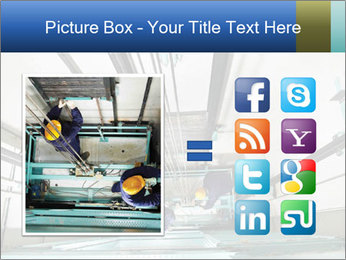Two machinist worker PowerPoint Templates - Slide 21