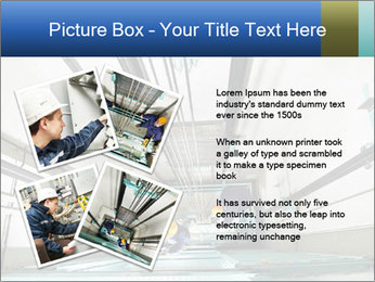 Two machinist worker PowerPoint Templates - Slide 23