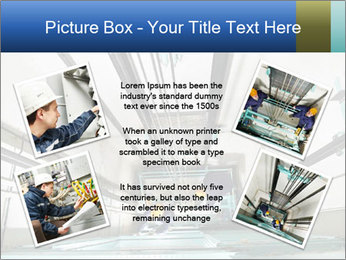 Two machinist worker PowerPoint Template - Slide 24