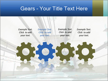 Two machinist worker PowerPoint Template - Slide 48