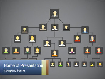 Famili tree PowerPoint Template