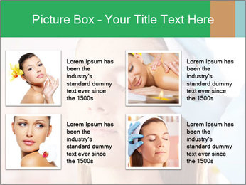 Woman in beauty clinic PowerPoint Template - Slide 14