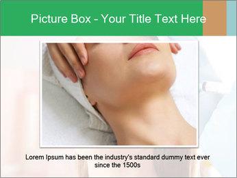Woman in beauty clinic PowerPoint Template - Slide 15