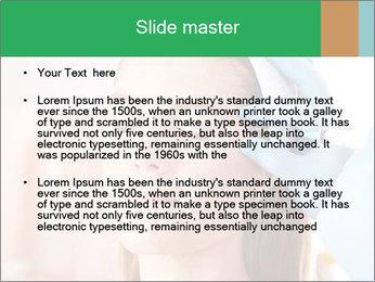 Woman in beauty clinic PowerPoint Template - Slide 2