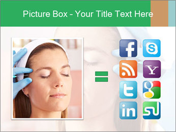 Woman in beauty clinic PowerPoint Template - Slide 21