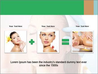 Woman in beauty clinic PowerPoint Template - Slide 22