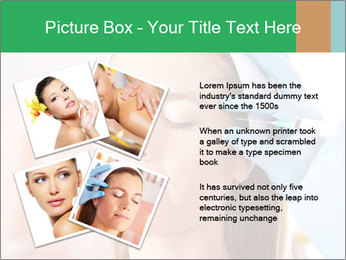 Woman in beauty clinic PowerPoint Template - Slide 23