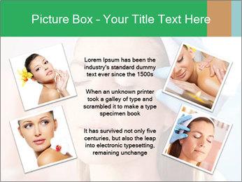 Woman in beauty clinic PowerPoint Template - Slide 24