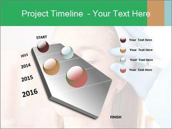Woman in beauty clinic PowerPoint Template - Slide 26