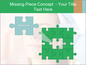 Woman in beauty clinic PowerPoint Template - Slide 45