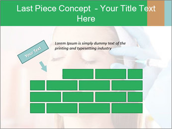 Woman in beauty clinic PowerPoint Template - Slide 46