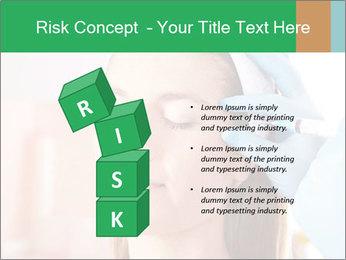 Woman in beauty clinic PowerPoint Template - Slide 81