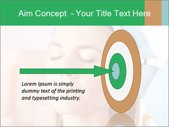 Woman in beauty clinic PowerPoint Template - Slide 83