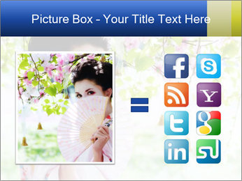 Asian style PowerPoint Template - Slide 21