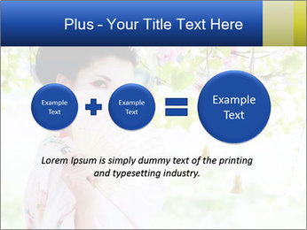 Asian style PowerPoint Template - Slide 75