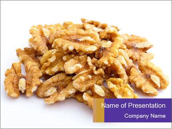 Walnut PowerPoint Template - Slide 1