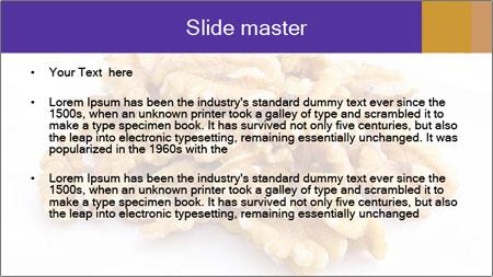 Walnut PowerPoint Template - Slide 2