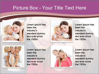 A smiling mother PowerPoint Template - Slide 14