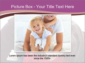 A smiling mother PowerPoint Template - Slide 15