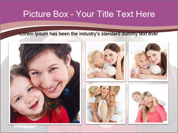 A smiling mother PowerPoint Template - Slide 19