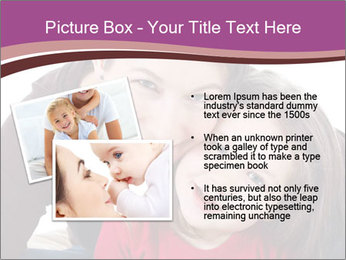 A smiling mother PowerPoint Template - Slide 20