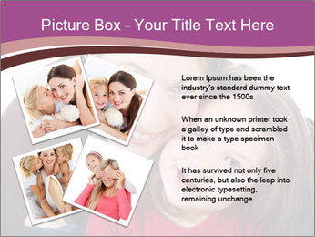 A smiling mother PowerPoint Template - Slide 23