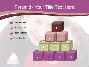 A smiling mother PowerPoint Template - Slide 31