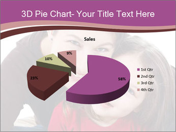 A smiling mother PowerPoint Template - Slide 35
