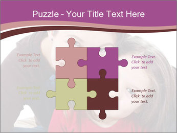 A smiling mother PowerPoint Template - Slide 43