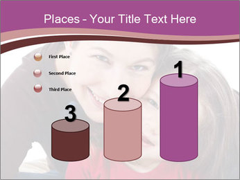 A smiling mother PowerPoint Template - Slide 65