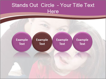A smiling mother PowerPoint Template - Slide 76