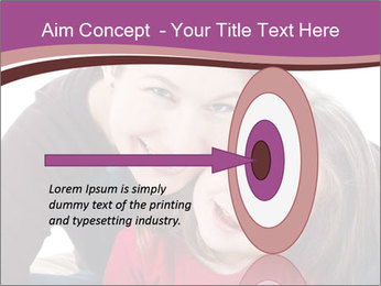 A smiling mother PowerPoint Template - Slide 83