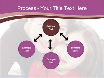 A smiling mother PowerPoint Template - Slide 91