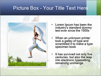 Fitness woman PowerPoint Template - Slide 13