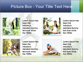 Fitness woman PowerPoint Template - Slide 14