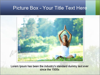 Fitness woman PowerPoint Template - Slide 15