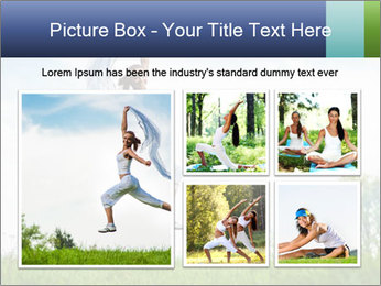 Fitness woman PowerPoint Template - Slide 19