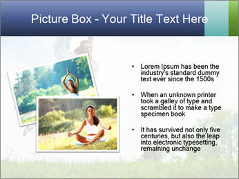 Fitness woman PowerPoint Template - Slide 20