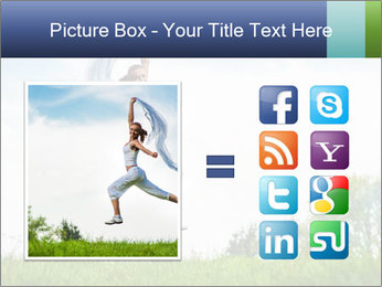Fitness woman PowerPoint Template - Slide 21