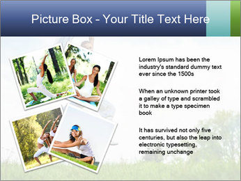 Fitness woman PowerPoint Template - Slide 23
