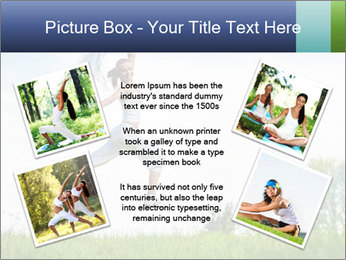 Fitness woman PowerPoint Template - Slide 24