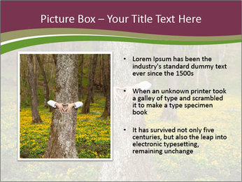 Tree in forest PowerPoint Template - Slide 13