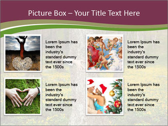 Tree in forest PowerPoint Template - Slide 14