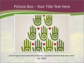 Tree in forest PowerPoint Template - Slide 15