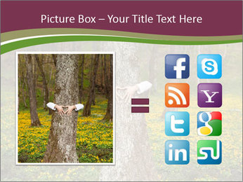 Tree in forest PowerPoint Template - Slide 21