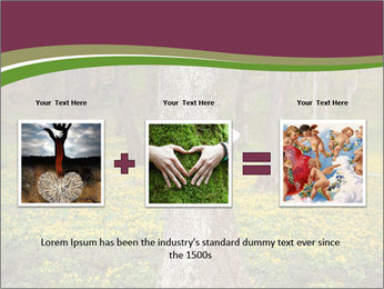 Tree in forest PowerPoint Template - Slide 22