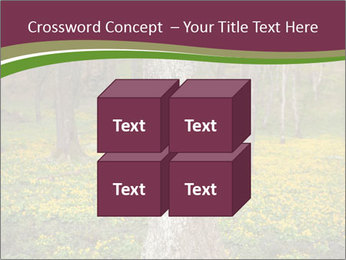 Tree in forest PowerPoint Template - Slide 39