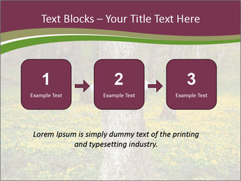 Tree in forest PowerPoint Template - Slide 71