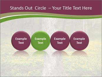Tree in forest PowerPoint Template - Slide 76