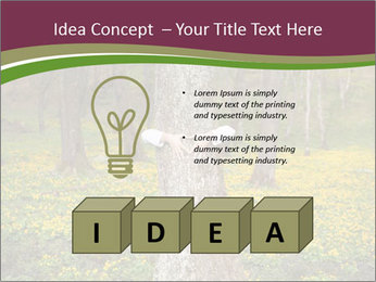 Tree in forest PowerPoint Template - Slide 80
